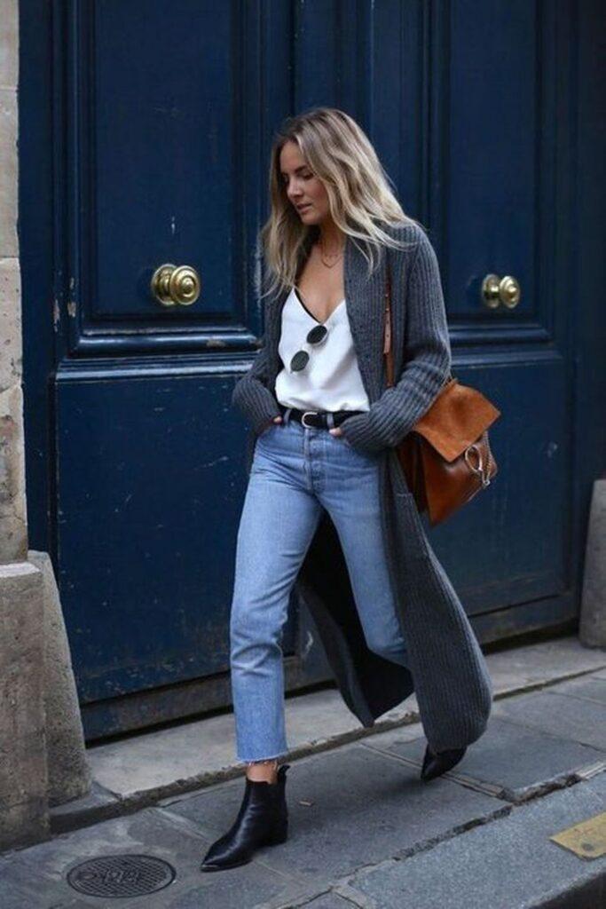 Look inspiração com botas para o inverno.