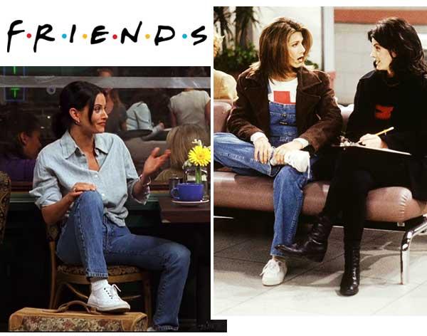 Imagem inspiração back to basic seriado friends.
