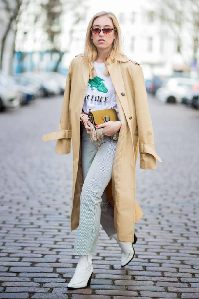Look inspiração com bota cowboy feminina.