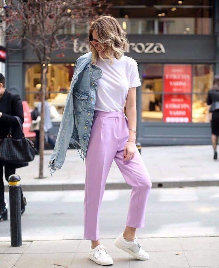 Look inspiração com a jaqueta feminina comprida.