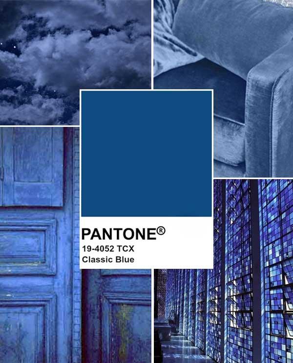 Imagem Inspiração Pantone Classic Blue